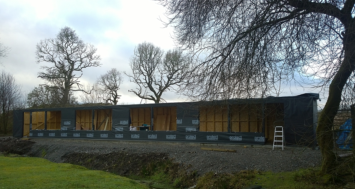Cattery is really taking shape – volunteers invited